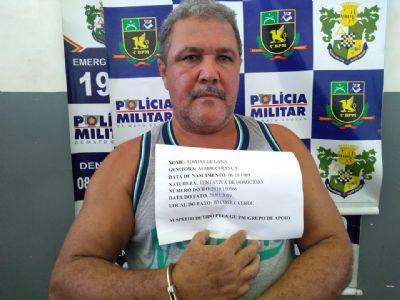 Padrasto suspeito de tentar matar enteados é preso em Várzea Grande