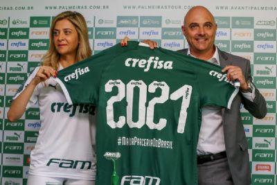 Palmeiras diminui dívida com patrocinadora para R$ 161 milhões em 2020; veja números