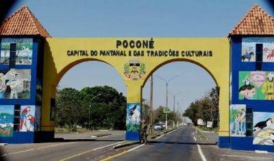 Poconé fecha município