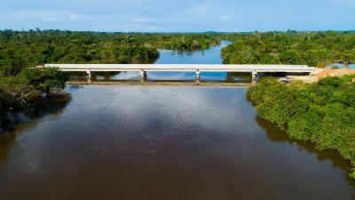 Governo finaliza obras de pontes de concreto e melhora acesso nas rodovias estaduais