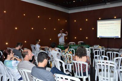 Professores da rede pública de Cuiabá participaram do encontro nacional de Matemática