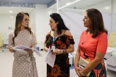 Primeira-dama realiza ação social em benefício do Hospital de Câncer de Mato Grosso