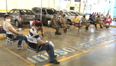 Vacinação da Segurança Pública é suspensa em Cuiabá por falta de doses