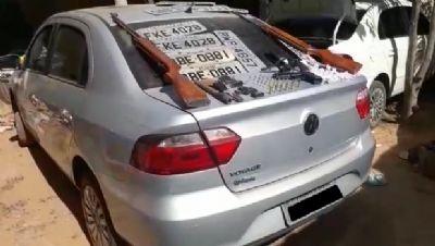 PM desarticula quadrilha e localiza carros roubados em Várzea Grande