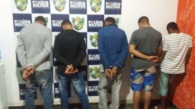 Homem é mantido refém durante tentativa de roubo e quadrilha é presa