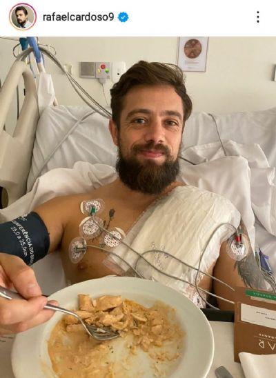 Rafael Cardoso passa por cirurgia no coração: 'Risco de morte súbita'
