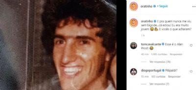 Ratinho surge irreconhecível em foto sem o bigode e diverte seguidores