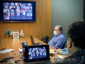 Prefeito reúne secretariado e reforça medidas para evitar a disseminação da COVID-19