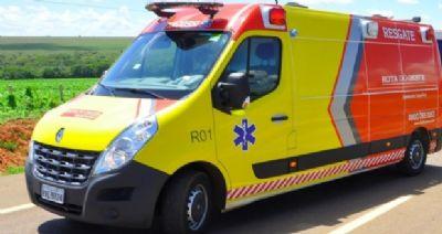 Motoristas ficam feridos após colisão em rodovia federal