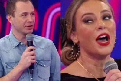 Leifert provoca Paolla Oliveira sobre novo namorado: 'Sou fofoqueiro'