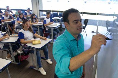 Com aulas retomadas em 3 de agosto, Seduc finaliza contratação de 3,5 mil professores