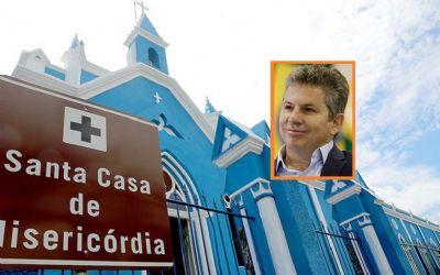 Mendes manda elaborar plano para salvar  Santa Casa