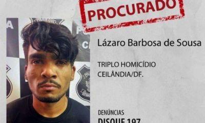 Notícias falsas prejudicam buscas por Lázaro Barbosa, diz secretário