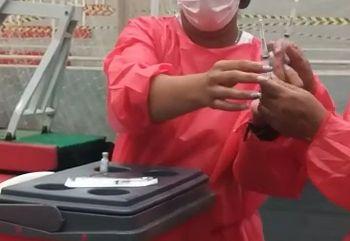 Vídeo de suposta troca de seringas provoca polêmica e Prefeitura de VG garante aplicação