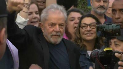 Soltura de Lula: acompanhe a saída do ex-presidente da prisão