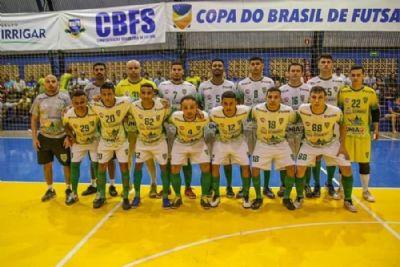 ASF Sorriso é derrotado pelo Marreco-PR e está fora da Copa do Brasil de Futsal