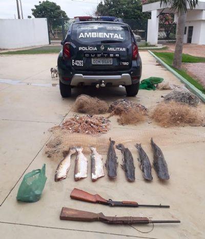 Homem é preso com 22 kg de pescado irregular em Rondonópolis