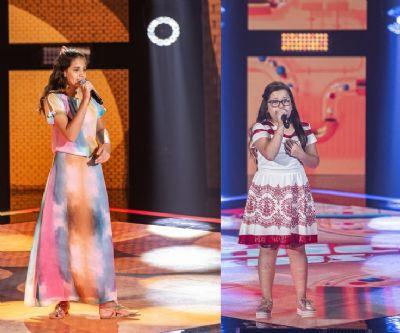 Com muito talento e fofura, mato-grossenses garantem vaga no The Voice Kids