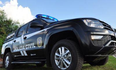 Dupla especializada em furtos no interior de veículos é presa em flagrante