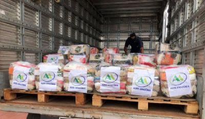 Funcionárias abrem mão de 'mimos' de Dia das Mães para doar cestas básicas