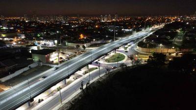 Primeiros viadutos construídos pelo município modernizam e desafogam trânsito da Capital