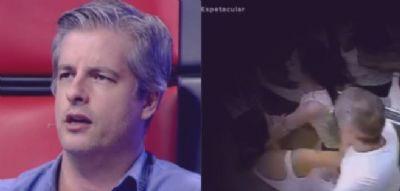 Vídeo mostra cantor Victor Chaves agredindo ex-esposa