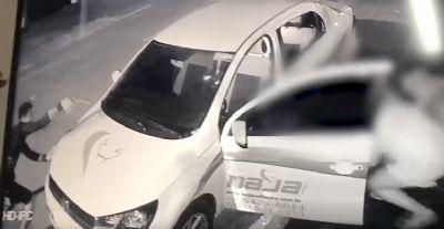 Vídeo mostra troca de tiros entre presidente de Conseg e assaltante