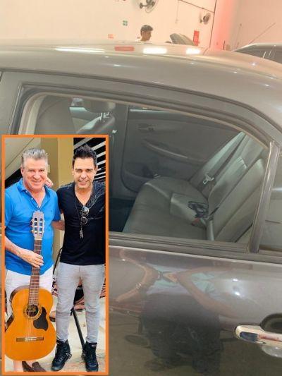 Pescuma tem carro arrombado em Cuiabá e violão roubado