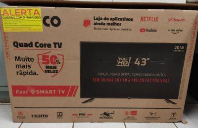 Arrepende de furto, ladrão compra televisão nova para vítima