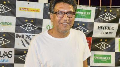 Walter Hudson reassume a presidência do Mixto e busca apoio montar elenco forte para a Copa FMF